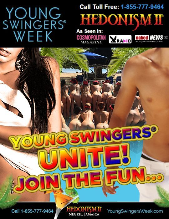 October 2019 Young Swingers® Week at Hedonism II